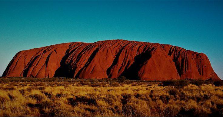 Ayers rock ali Uluru v jeziku staroselcev