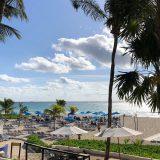 plaža hotela The Reef playa carmen